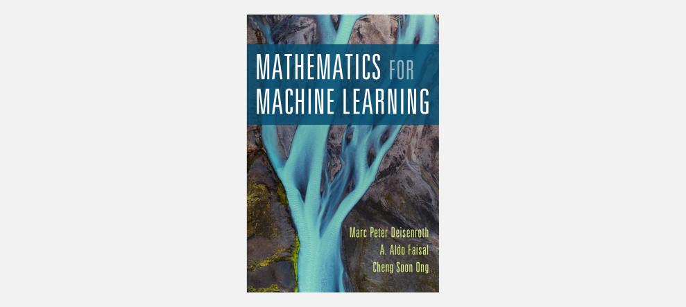 Mathematics for Machine Learning book